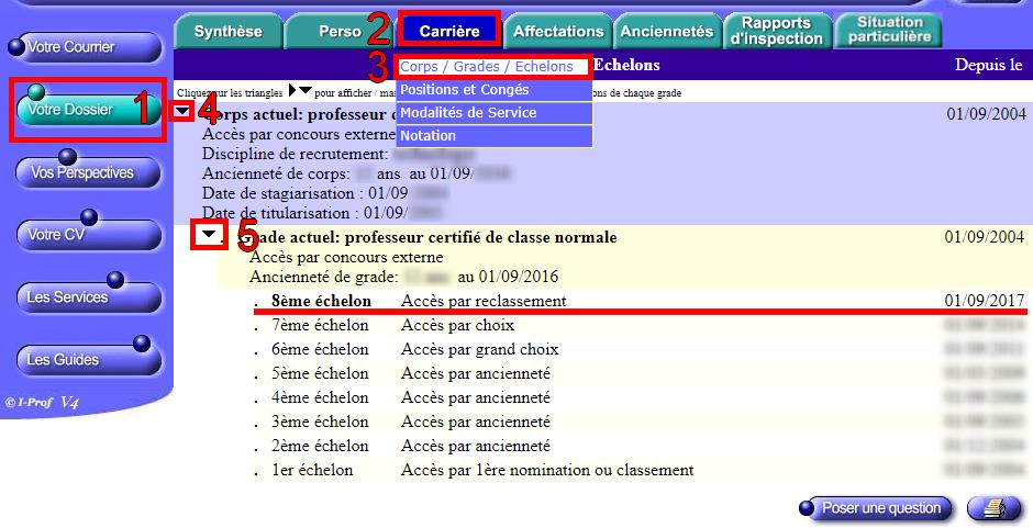 Reclassement Dans Le Cadre Du Ppcr C Est Fait Blog De Julien