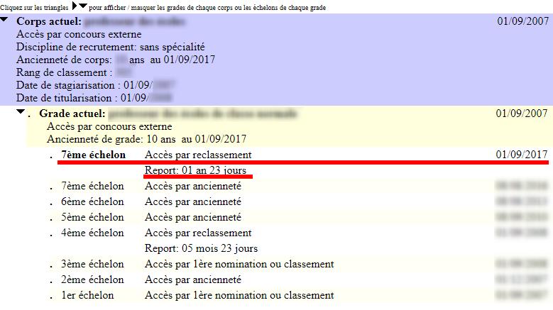 cfc1fe7a352 Reclassement dans le cadre du PPCR   c est fait ! - Blog de Julien ...
